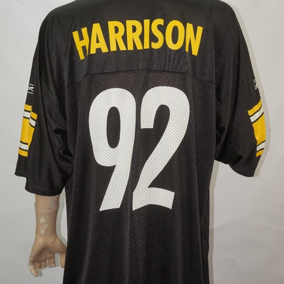 uk availability 8d086 14721 Pittsburgh Steelers James Harrison #92 Jersey